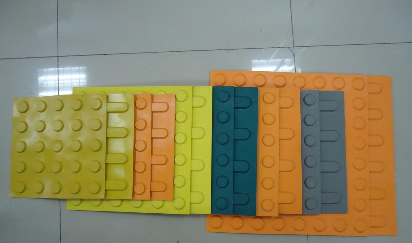 橡胶盲道砖常用规格